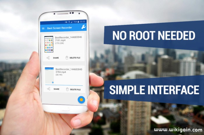 How to Record Android Screen withour Root