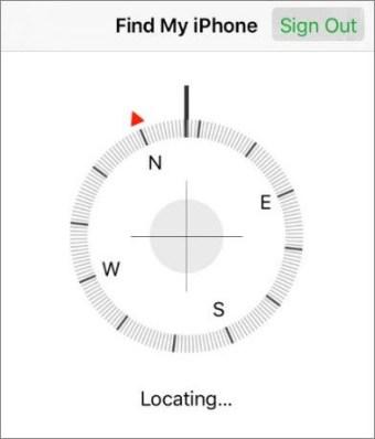 Locating...