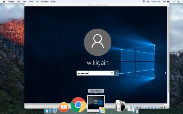Installed Windows 10 Successfully on VirtualBox