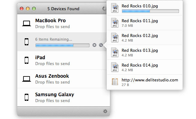 how to download files from android to mac