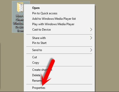 Change Windows 10 Folder icon