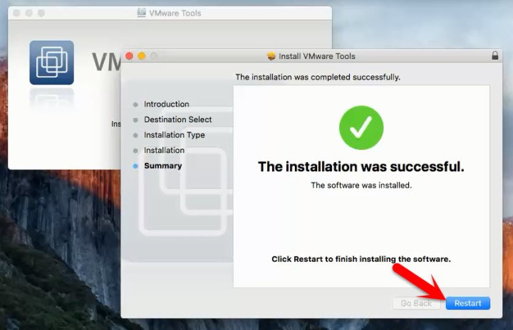 How to Install VMware Tools on Mac OS X El Capitan?
