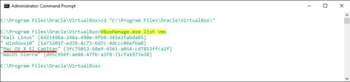 Fix VirtualBox Errors While Installing Mac OS X