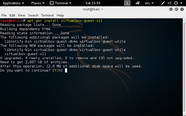 How to Install VirtualBox Guest Additions on Kali Linux?