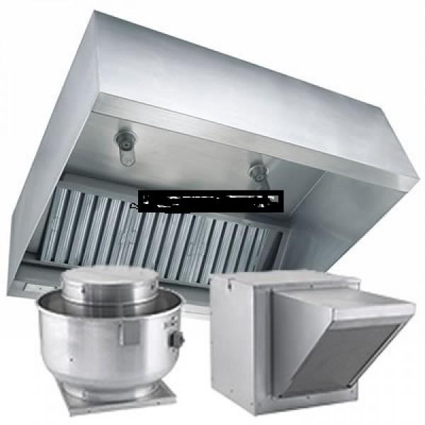 commercial kitchen exhaust hoods 6 x48