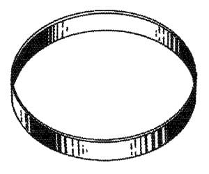 "Eureka ""U"" Belt - 2pk"