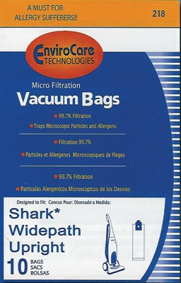 EuroPro SHARK Upright MicroBAGS-10pk