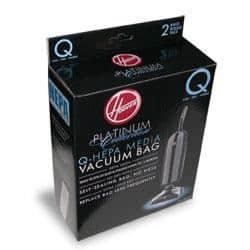 "Hoover ""Q"" HEPA BAGS-2pkg/LiteUpr"
