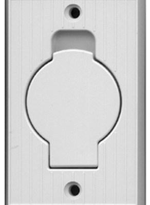 Hayden INLET VALVE-White (Round Door)