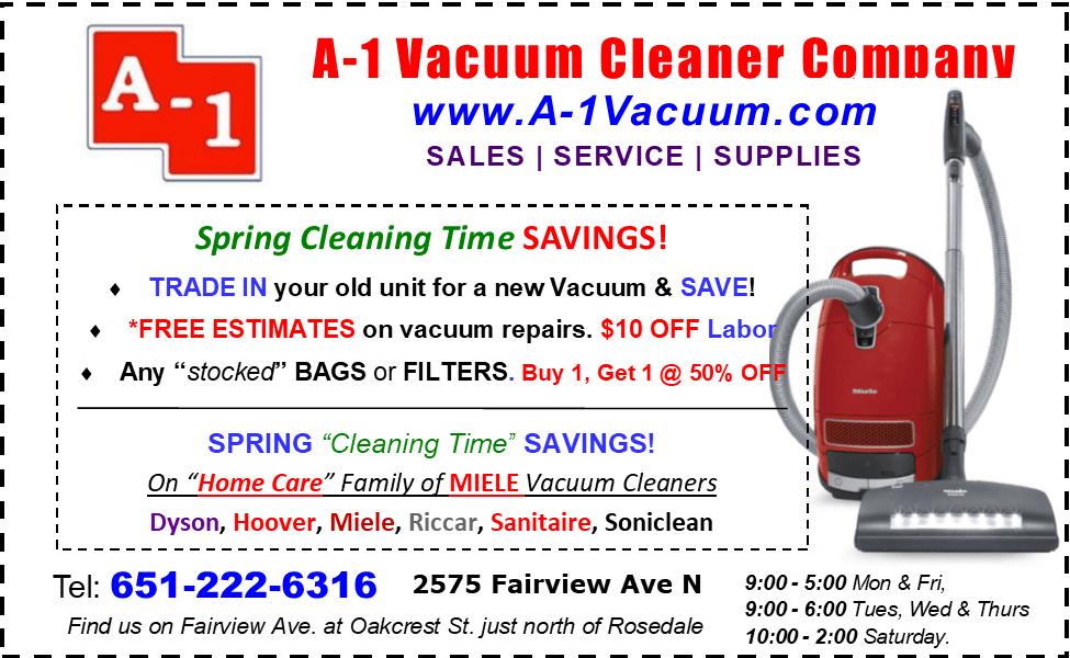 Vacuum Sales, Service & Supplies