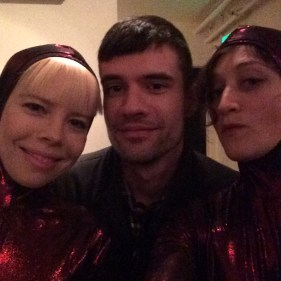 Kate, Ian, and Amaranth at the UWB MFA Offsite reading