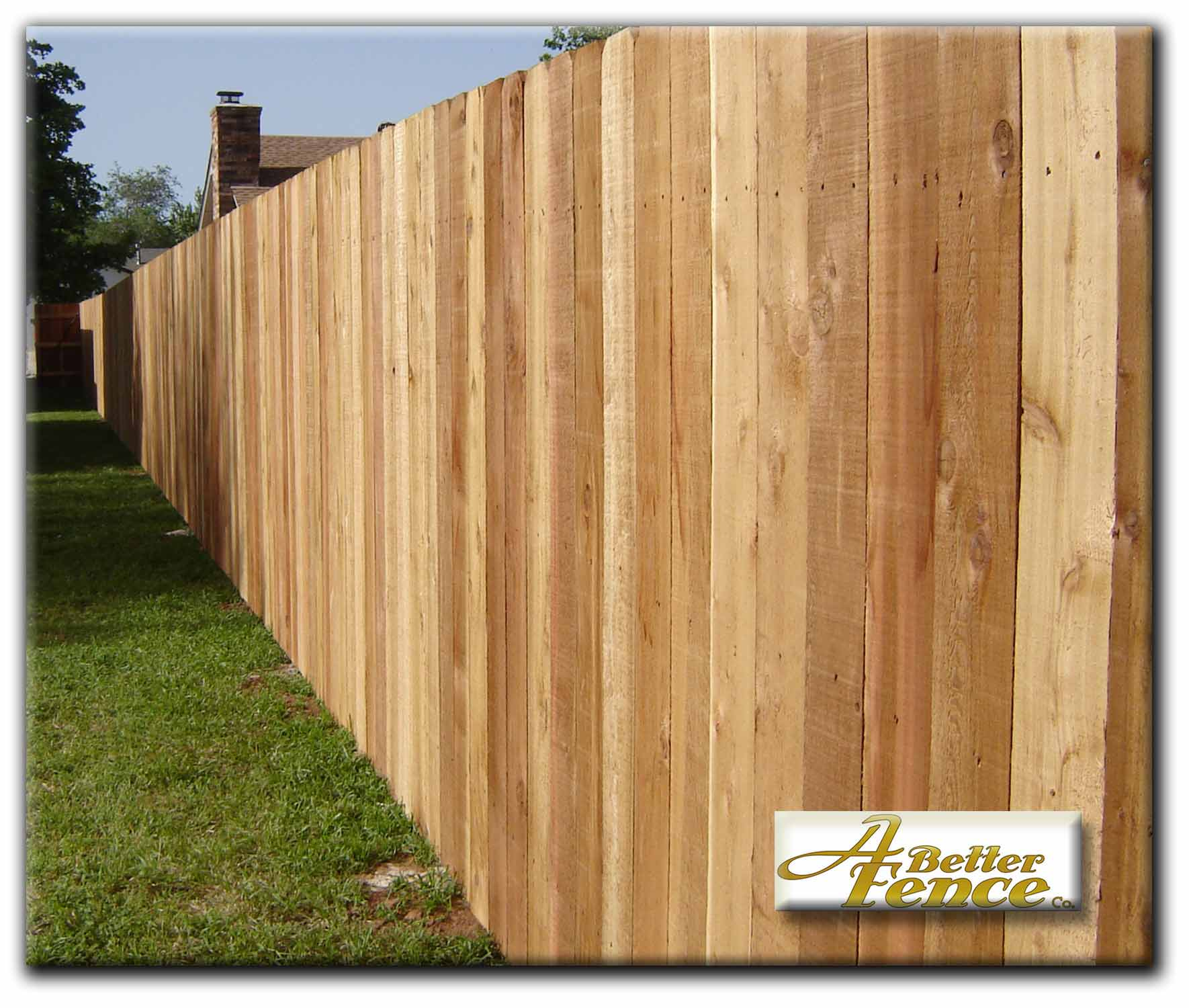 cedar fence plans