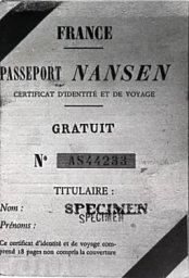 Passaporto Nansen