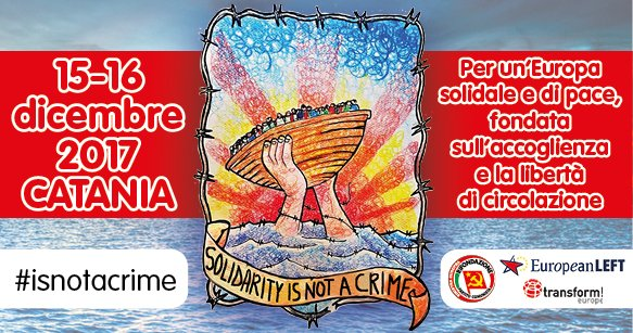 """Permalink to: """"Solidarity is not a crime"""" Catania antirazzista"""