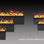 Wasserdampf Kamin 3d Elektrokamin Einsatz Mit Wasserdampf Afire