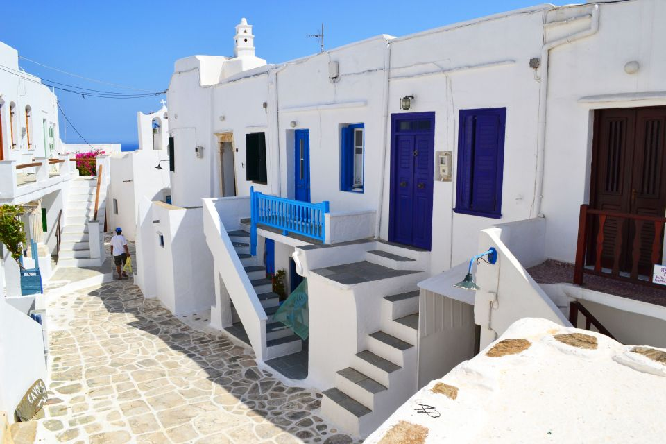 Kastro, Sifnos architecture
