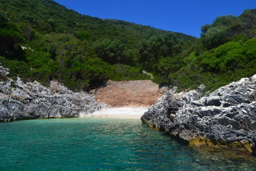 best beaches in Kefalonia, Northern Kefalonia