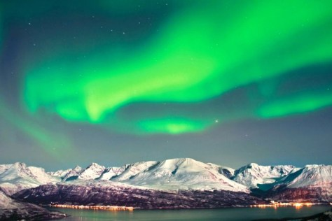 Image result for northern lights Tromso, Norway