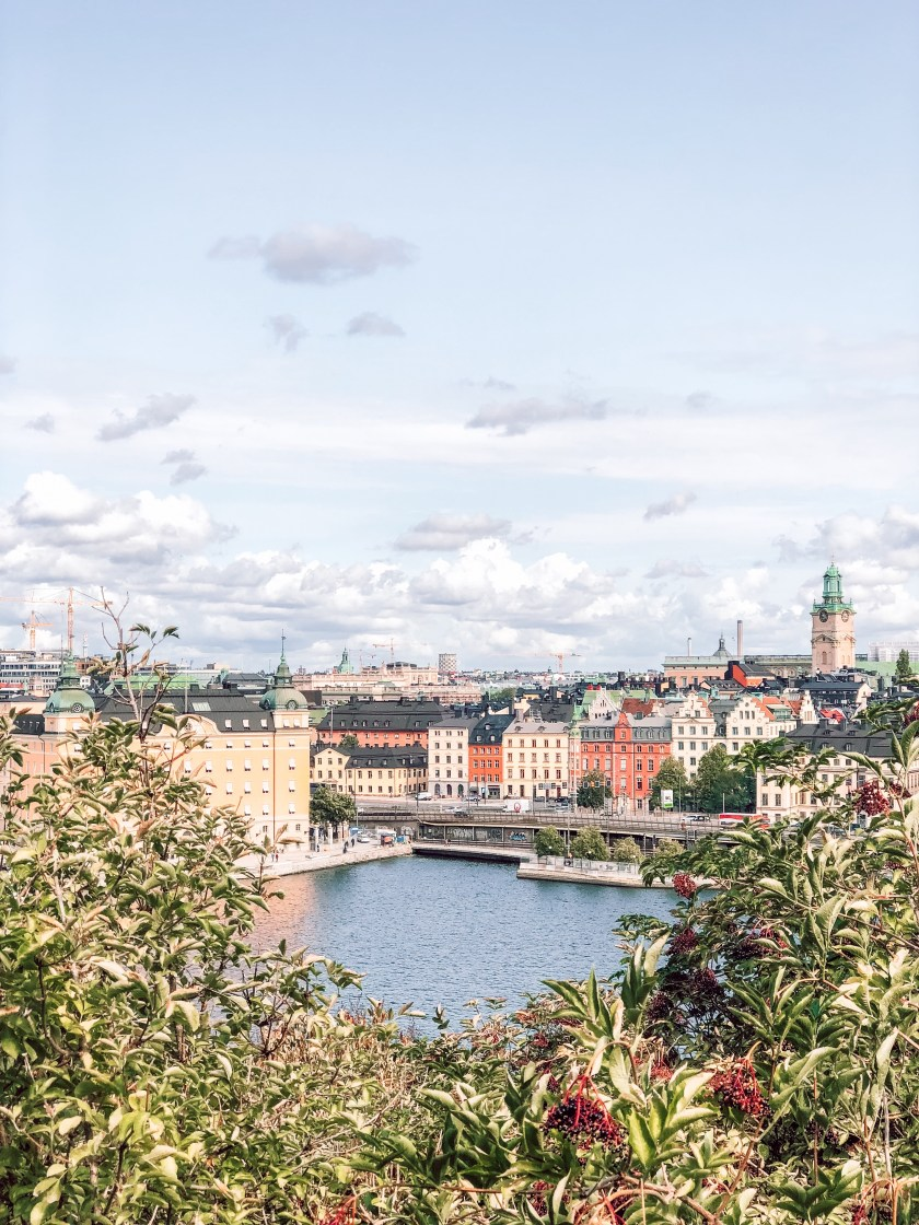 View from Sodermalm, Stockholm