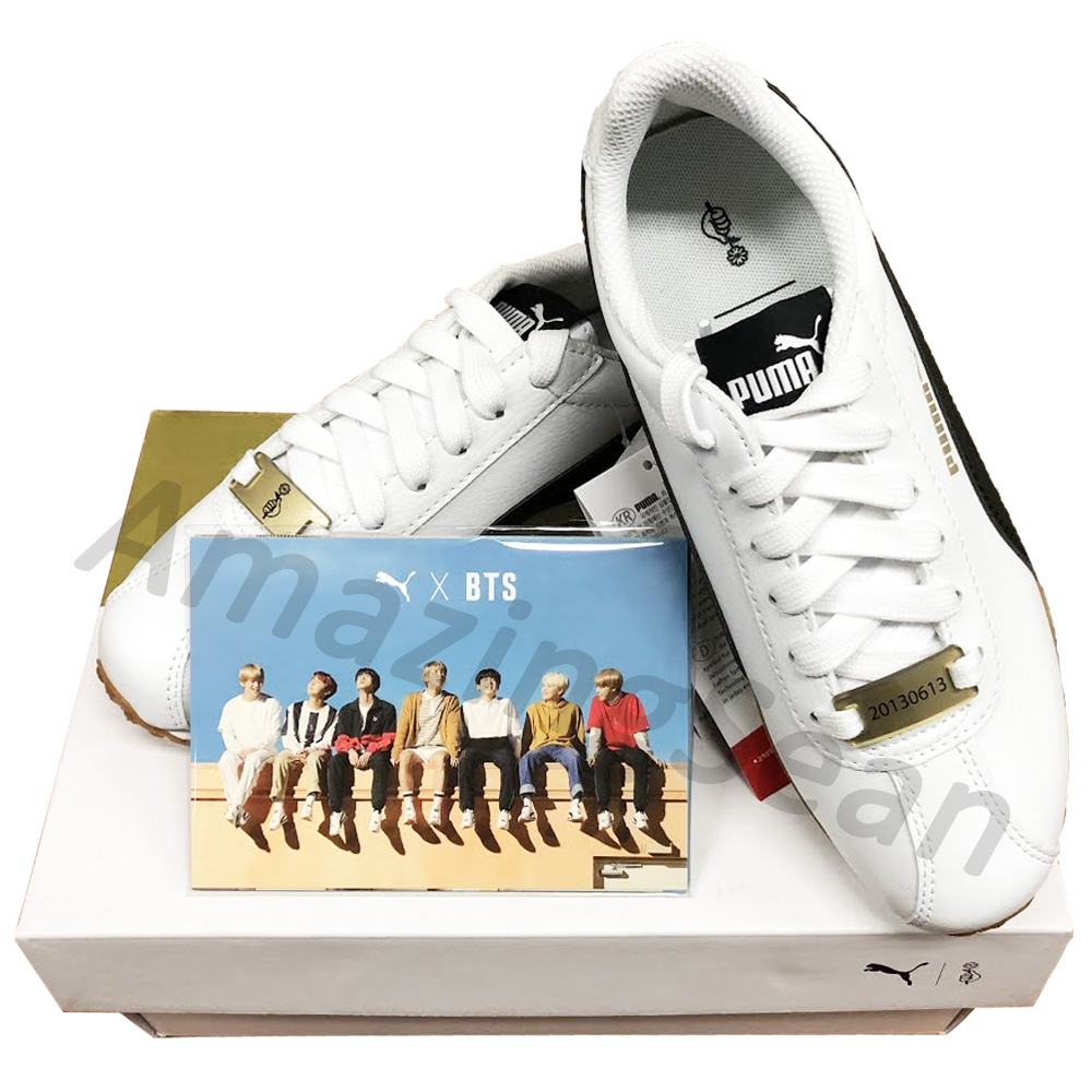 OFFICIAL PUMA X BTS TURIN SHOES