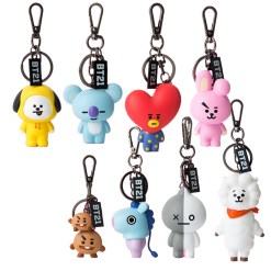 BT21 Figure Key Ring