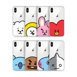BT21 CLEAR JELLY CASE