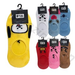 BT21 low cut socks