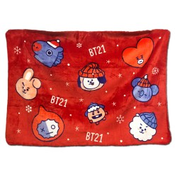 BT21 Christmas Blanket