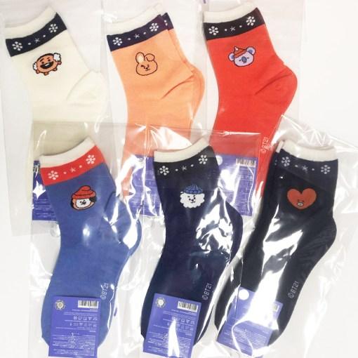 BT21 Christmas Socks