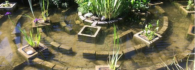 Le labyrinthe du grand bassin
