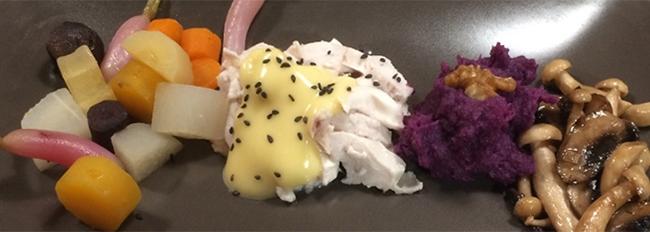 Panachée de légumes mijotés - Poulet