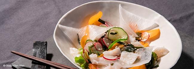 Sashimi de noix de St Jacques