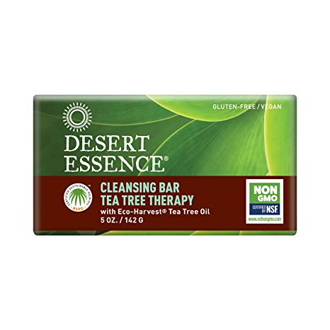Desert Essence Tea Tree Therapy Cleansing Bar Soap