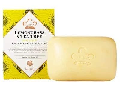 Nubian Heritage Lemongrass & Tea Tree Bar Soap