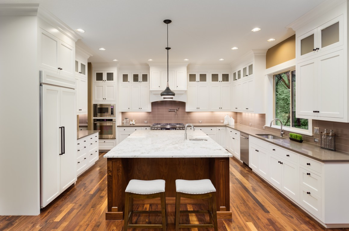 a-list builders modern kitchen remodel in encino, california | a
