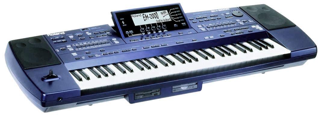 Roland EM 2000, EM2000, G1000, Styles, G1000 Styles