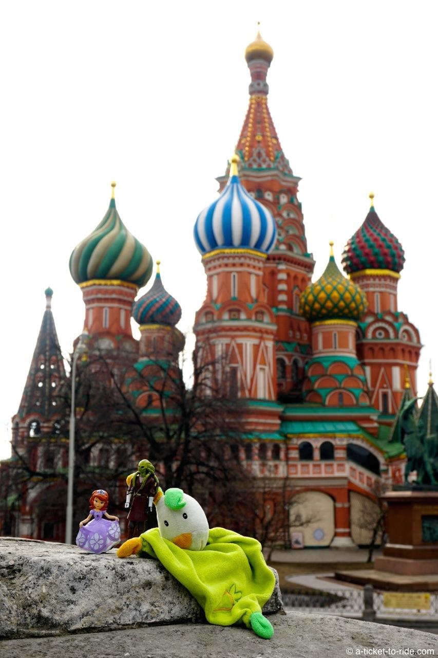 Russie, Moscou, Saint-Basile-le-Bienheureux