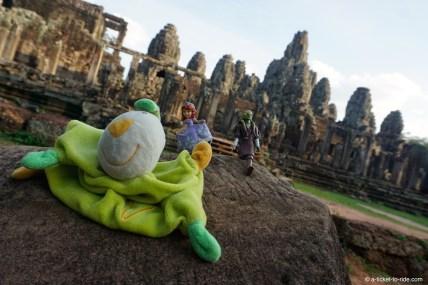 Cambodge, temples d'Angkor, le Bayon