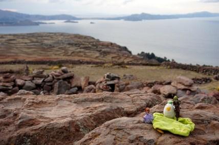 Pérou, lac Titicaca, île Amantani