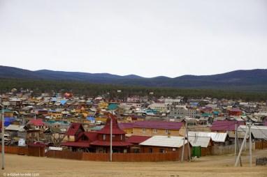 Russie, Olkhon, Khoujir