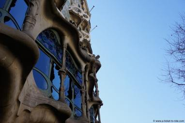 Espagne, Barcelone, Gaudi, Maison des os