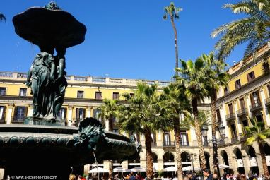 Espagne, Barcelone, Plaza real