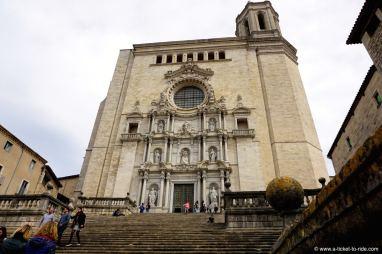 Espagne, Gérone, la cathédrale