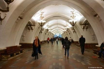Moscou, métro