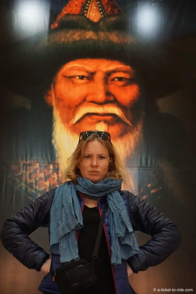 Mongolie, Oulan Bator, Genghis Khan