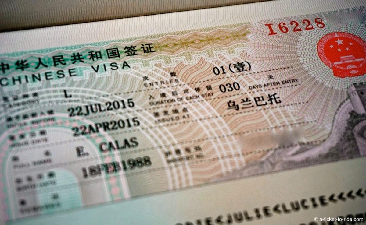 Obtenir son visa chinois à Oulan-Bator