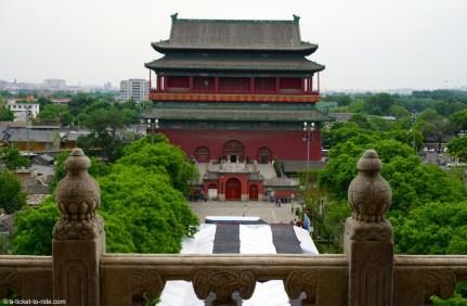 Chine, Pékin, Tour du tambour