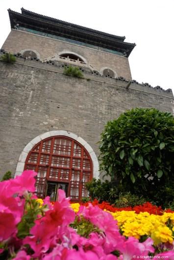 Chine, Pékin, Tour de la cloche
