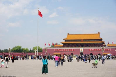 Chine, Pékin, place Tian'anmen