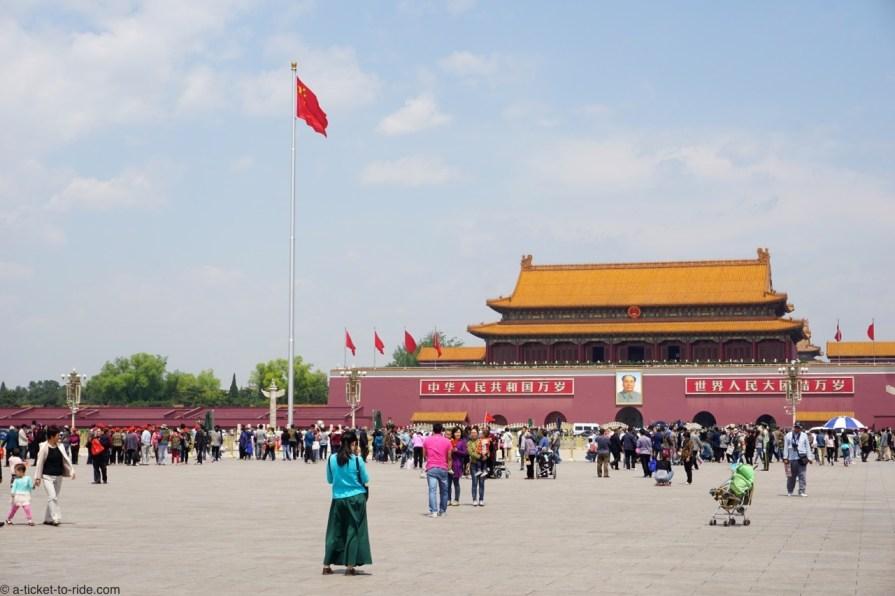 Chine, Pékin, place Tian'anmen